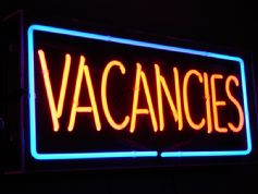 Vacancies Neon Sign